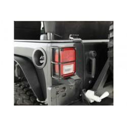 Tail Light Guards black Smittybilt - Jeep Wrangler JK