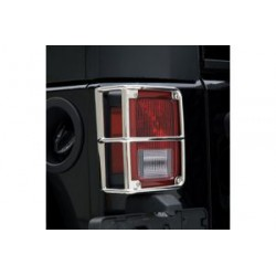 Tail Light Guards stainless steel Smittybilt - Jeep Wrangler JK