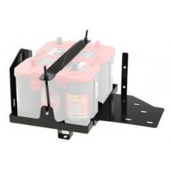 Dual Battery Tray OPTIMA Smittybilt - Jeep Wrangler JK