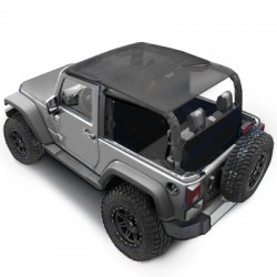 Soft Top Bikini SMITTYBILT - Jeep Wrangler JK 07-09 2 door