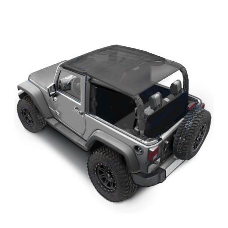 Soft Top Bikini SMITTYBILT - Jeep Wrangler JK 07-09 2 door