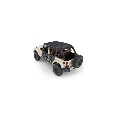 Soft Top Bikini SMITTYBILT - Jeep Wrangler JK 10-14 4 door