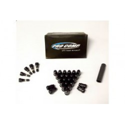 Anti-theft Lug Nuts Kit PRO COMP 25 pcs (BLACK)