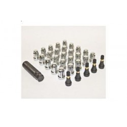 Anti-theft Lug Nuts Kit PRO COMP 25 pcs (CHROME)