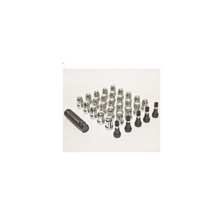 Anti-theft Lug Nuts Kit PRO COMP 25 pcs (CHROME)