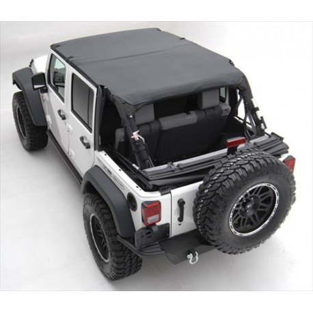Soft Top Brief Top Waterproof SMITTYBILT - Jeep Wrangler JK 10-14 4 door