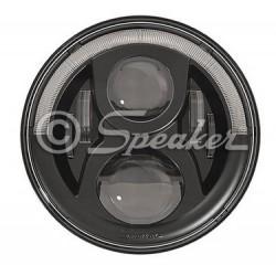Headlight LED JW Speaker 8700 EvoulutionJ2 BLACK - Jeep Wrangler JK