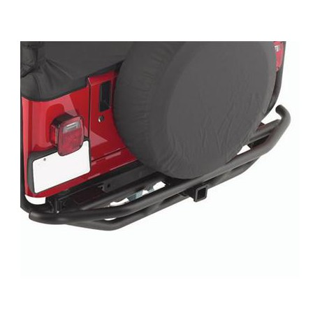 Rear Tubular Bumper SMITTYBILT SRC - Jeep Wrangler YJ