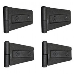 Door Hinges SMITTYBILT black - Jeep Wrangler JK