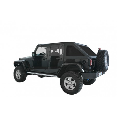 Bowless Soft Top - Jeep Wrangler JK 4 door
