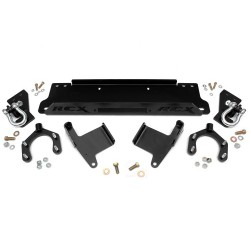 Winch Plate with d-ring Mounts Rough Country - Jeep Wrangler JK