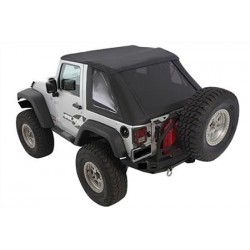 Bowless Combo Top SMITTYBILT - Jeep Wrangler JK 2 door