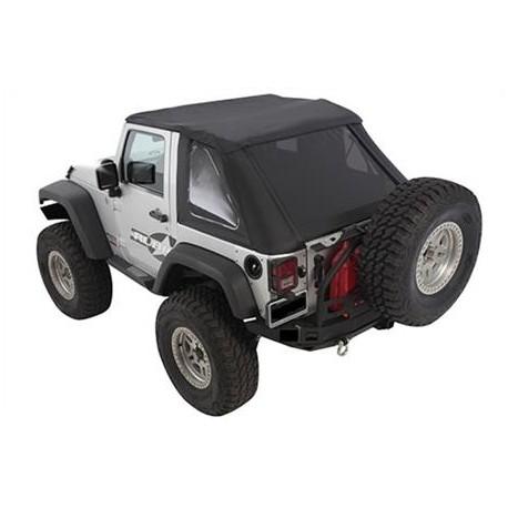 Bowless Combo Top SMITTYBILT - Jeep Wrangler JK 2 door