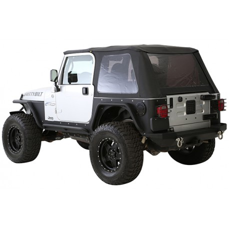 Bowless Combo Top SMITTYBILT - Jeep Wrangler TJ