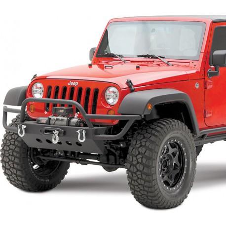 Front Tubular Winch Bumper SMITTYBILT SRC - Jeep Wrangler JK
