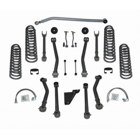 4.5'' Super-Flex Short Arm Lift Kit Rubicon Express - Jeep Wrangler JK 4 door
