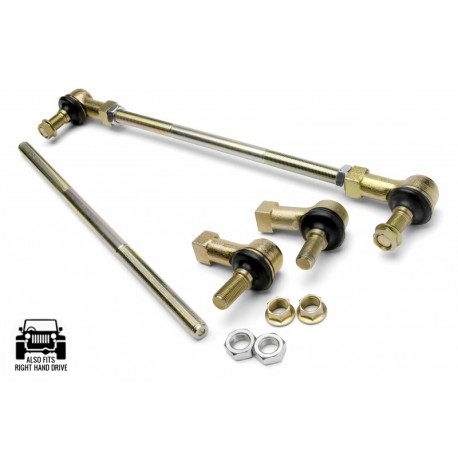 Rear Adjustable Swaybars End Link JKS, Lift 0-6'' - Jeep Wrangler JK