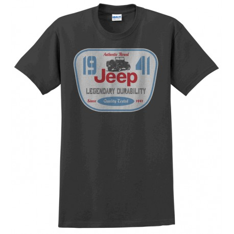 Men's T-shirt Jeep Legendary Durability Since 1941 (M size)