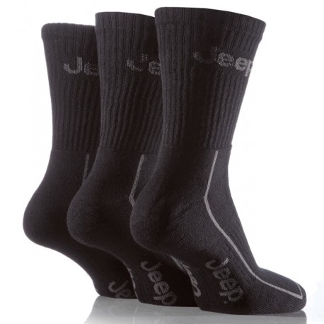 Men's Sport Socks Jeep black (3 pairs)