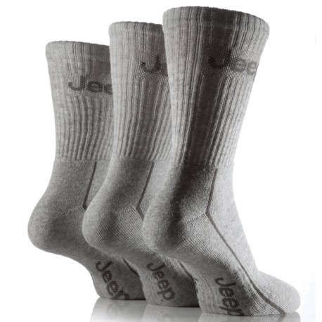 Men's Sport Socks Jeep grey (3 pairs)