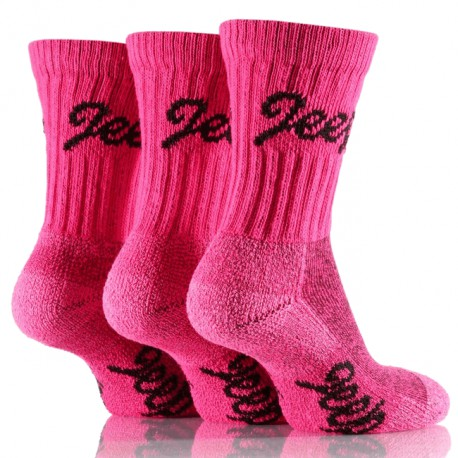 Womens Socks Jeep pink (3 pairs)