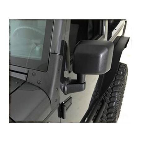 Windshield Brackets black Smittybilt - Jeep Wrangler JK