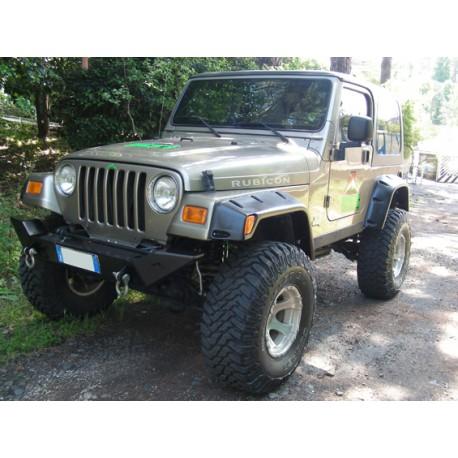 Front steel bumper Rock's - Jeep Wrangler TJ