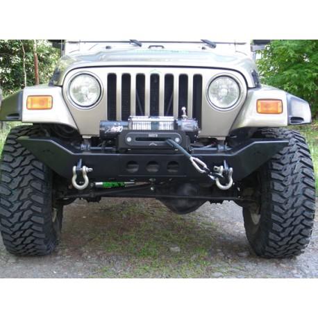 front steel bumper winch plate Rock's - Jeep Wrangler JK