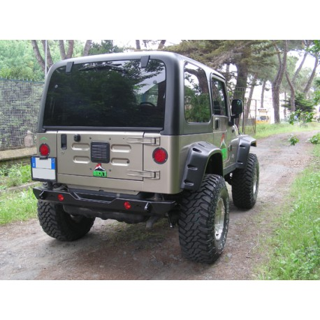 Rear steel bumper Rock's - Jeep Wrangler TJ