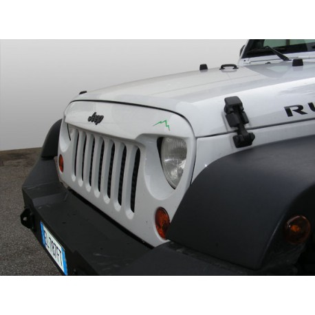 Grill Monster Rock's - Jeep Wrangler JK