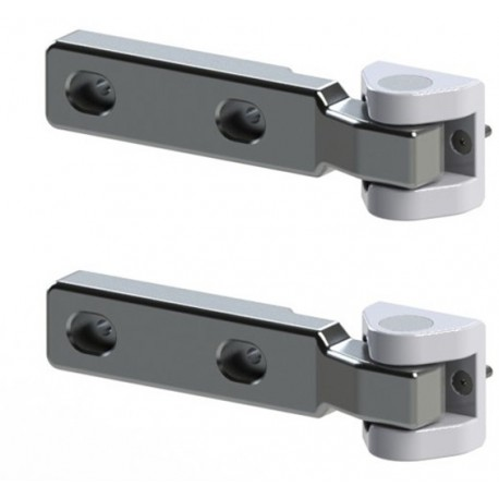 Heavy duty hinges for tailgate Rock's - Jeep Wrangler JK