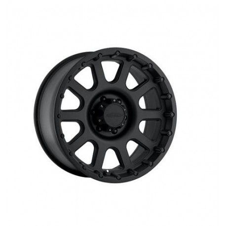"Alloy Wheel 9X17"" 5X127 ET -6 - PRO COMP Model 7032 Satin Black - Jeep Grand Cherokee WJ WG"