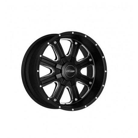 """Alloy Wheel 9X17"""" 5X127 ET -6 - PROCOMP Model 5182 Matte Black - Jeep Grand Cherokee WJ WG"""
