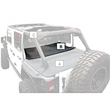 Tonneau Cover/Extension Smittybilt - Jeep Wrangler JK 4 drzwi