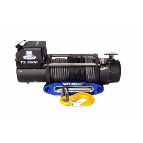 Superwinch TigerShark 9500 electric winch (synthetic rope & aluminium fairlead)