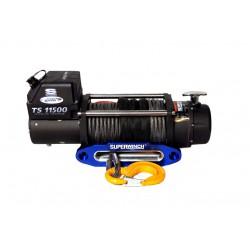 Superwinch TigerShark 11500 electric winch (synthetic rope & aluminium fairlead)