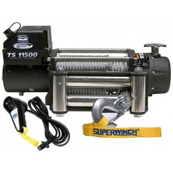 Superwinch TigerShark 11500 electric winch (steel rope & stainless steel roller fairlead)
