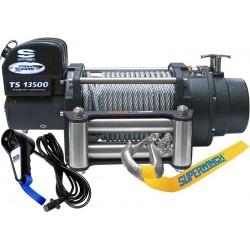 Superwinch TigerShark 13500 electric winch (steel rope & stainless steel roller fairlead)