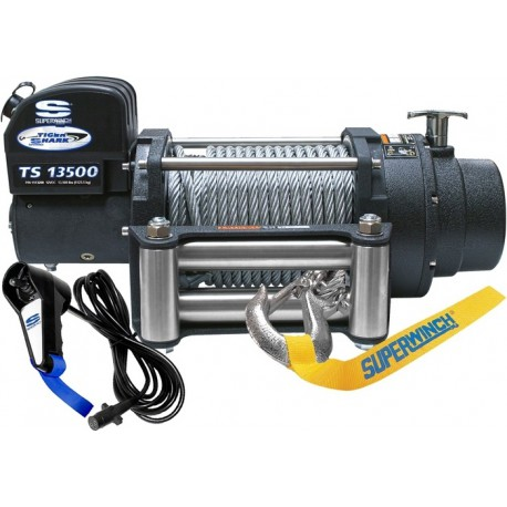 Superwinch TigerShark 13500 electric winch (steel rope & stainless steel roller fairlead)