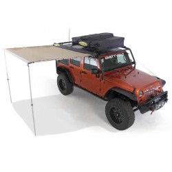 Retractable Awning Small SMITTYBILT - Jeep Wrangler JK