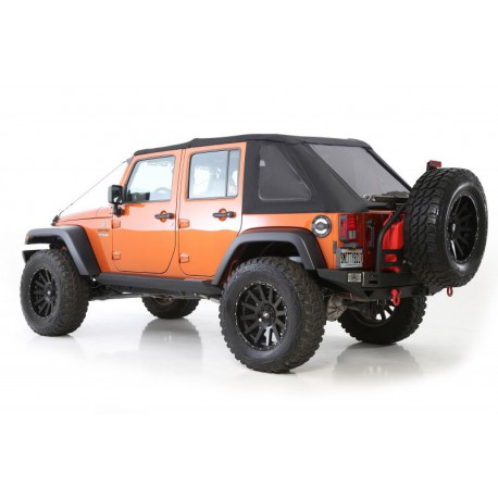 Bowless Combo Top SMITTYBILT - Jeep Wrangler JK 4 door