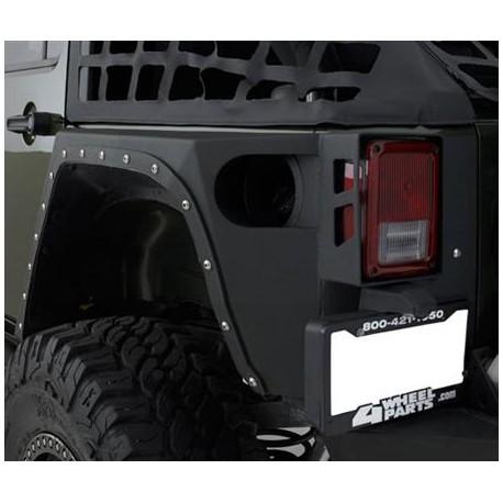 Rear Corners Armor SMITTYBILT XRC - Jeep Wrangler JK 4 door