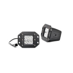 LED Lights Square Flush Rough Country (pair)