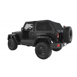 Bowless Soft Top - Jeep Wrangler JK 2 drzwi