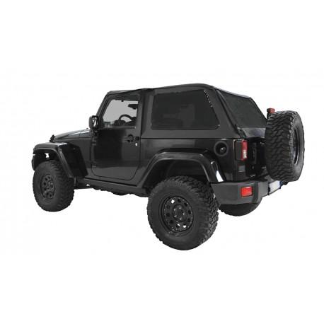 Bowless Soft Top - Jeep Wrangler JK 2 drzwi
