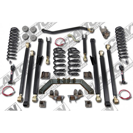 "4"" CLAYTON OFF ROAD Long Arm Lift Kit suspension - Jeep Wrangler LJ"