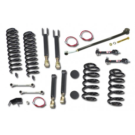 "4"" CLAYTON OFF ROAD Entry Level Lift Kit suspension - Jeep Wrangler TJ"