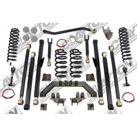 "4"" CLAYTON OFF ROAD Long Arm Lift Kit suspension - Jeep Wrangler TJ"