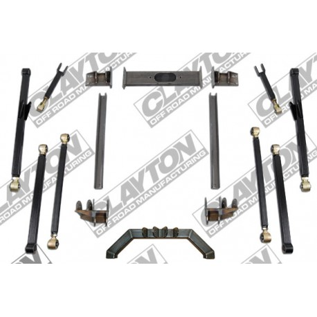"4""- 8'' Clayton Offroad Long Arm Upgrade Lift Kit - Jeep Grand Cherokee ZJ"