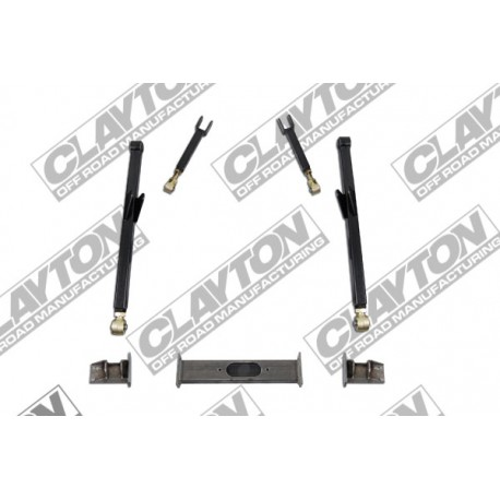 "4""- 8'' Clayton Offroad Long Arm Upgrade Lift Kit front half - Jeep Grand Cherokee ZJ"